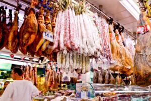 Tapas met vlees