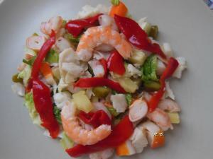 Ensalada de pescado - Salade met vis