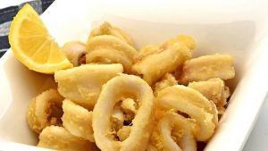 Calamares fritos a la Romana - Gefrituurde calamares