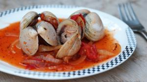 Almejas en Tomate - Venusschelpen in tomatensaus
