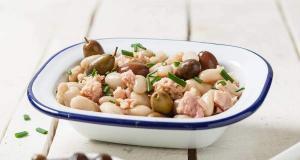 Ensalada judia blanca al tonno - Witte bonensalade met tonijn
