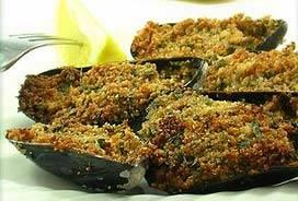 Mejillones con perejil - Mosselen met peterseliekorst