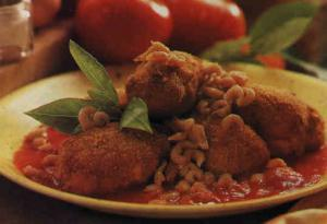 Croquetas de patata con gambas - Kroketjes van aardappel met garnaaltjes