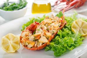Ensalada de Lagosta - Salade met Kreeft