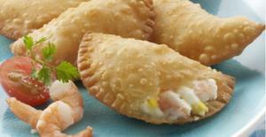 Empanadillas de camarones - Empanadilla's met garnalen