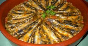 Pimientos con boquerones - Geroosterde paprika met ansjovis
