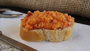 Almogrote de Gomera - Knoflookspread met kaas en peper