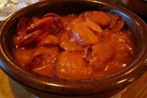 Chorizo Toledano - Chorizo in tomatensaus