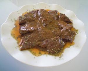 Carajacas - Pittige varkenslever