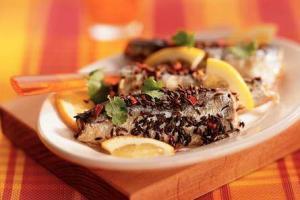Sardines in mix van Koriander en Chili - Sardinas mezcla de cilantro y pimienta