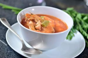 Sopa de Camarones - Garnalensoepje
