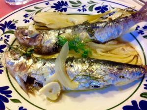 Sardinas al horno - Sardines uit de oven