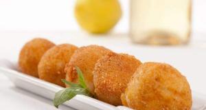 Buñuelos de pollo - Gefrituurde kipstukjes