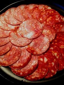 Tapa de Chorizo - Tapa van Chorizo