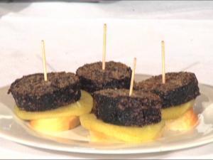 Morcilla con Manzana - Bloedworst met appel
