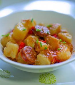 Patatas a la Riojana - Aardappels à la Rioja
