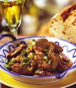 Pollo con Jerez - Kip in sherry