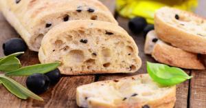Pan con aceitunas - Olijvenbrood