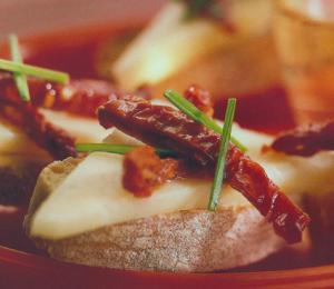 Manchego Tostada - Toast met manchego