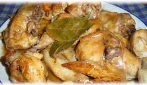 Pollo en salsa de ajo - Kip in knoflooksaus