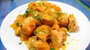 Pollo al sabor de naranja - Kip met sinaasappel
