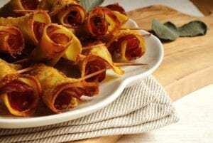 Bolas de patata con jamón serrano del horno