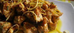 Pollo con límon y ajo - Kip met limoen en knoflook
