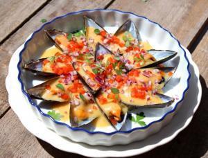 mejillones-con-salsa-de-azafran