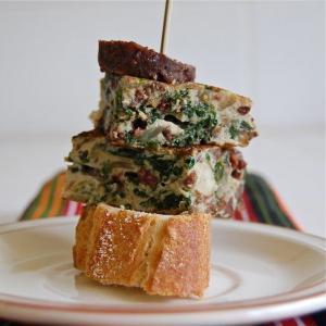 pintxo tortilla morcilla