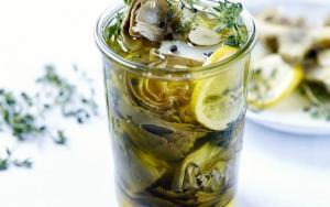 Alcachofas en Aceite de Oliva - Artisjokken in olijfolie