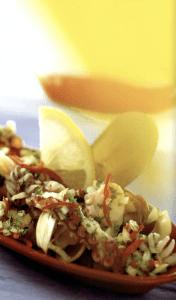 Salpicon de Mariscos - Pittige zeevruchtensalade