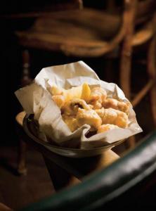 Ostras fritas - Gefrituurde oesters