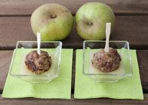 Albóndigas de ternera con manzana - Albóndigas van Kalfsgehakt en Appel