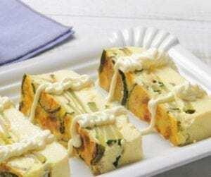 Pastel de Calabacín con Mayonesa - Courgettecake met Mayonesa