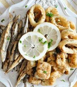 Tapa de Pescado Frito - Tapa van gefrituurde vis