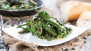 Pimientos de Padrón - Gebakken Spaanse groene pepers