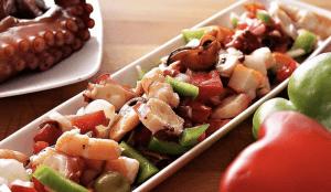 Salpicon de Mariscos - Salade van Zeevruchten
