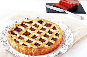 Pastel de Membrillo - Kweepeer taartje