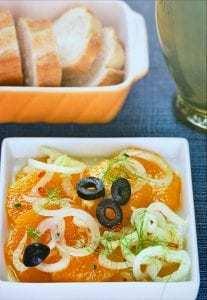 Ensalada de naranja e hinojo - Sinaasappel venkelsalade