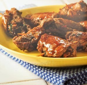 Lomo con pasta de aceitunas - Biefstuk met olijvenpasta